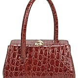 Little Liffner Baby Boss Croc-Embossed Leather Bag