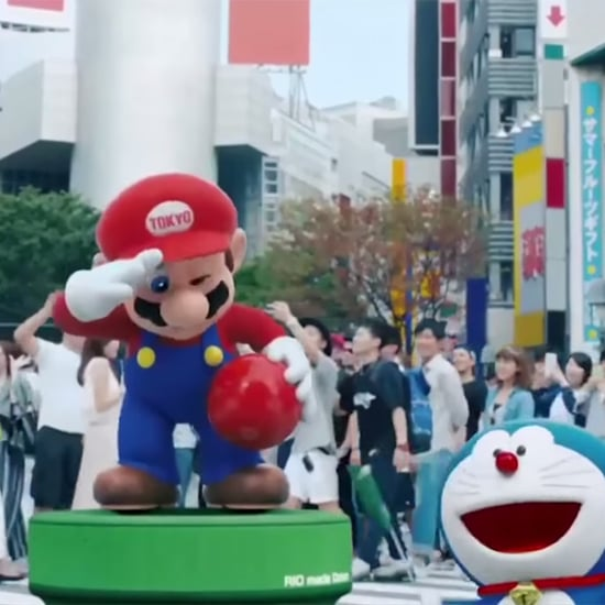 Tokyo Prime Minister as Mario For 2020 Olympics