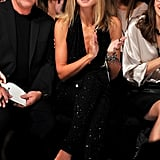 Heidi Klum and Michael Kors took in a runway show.