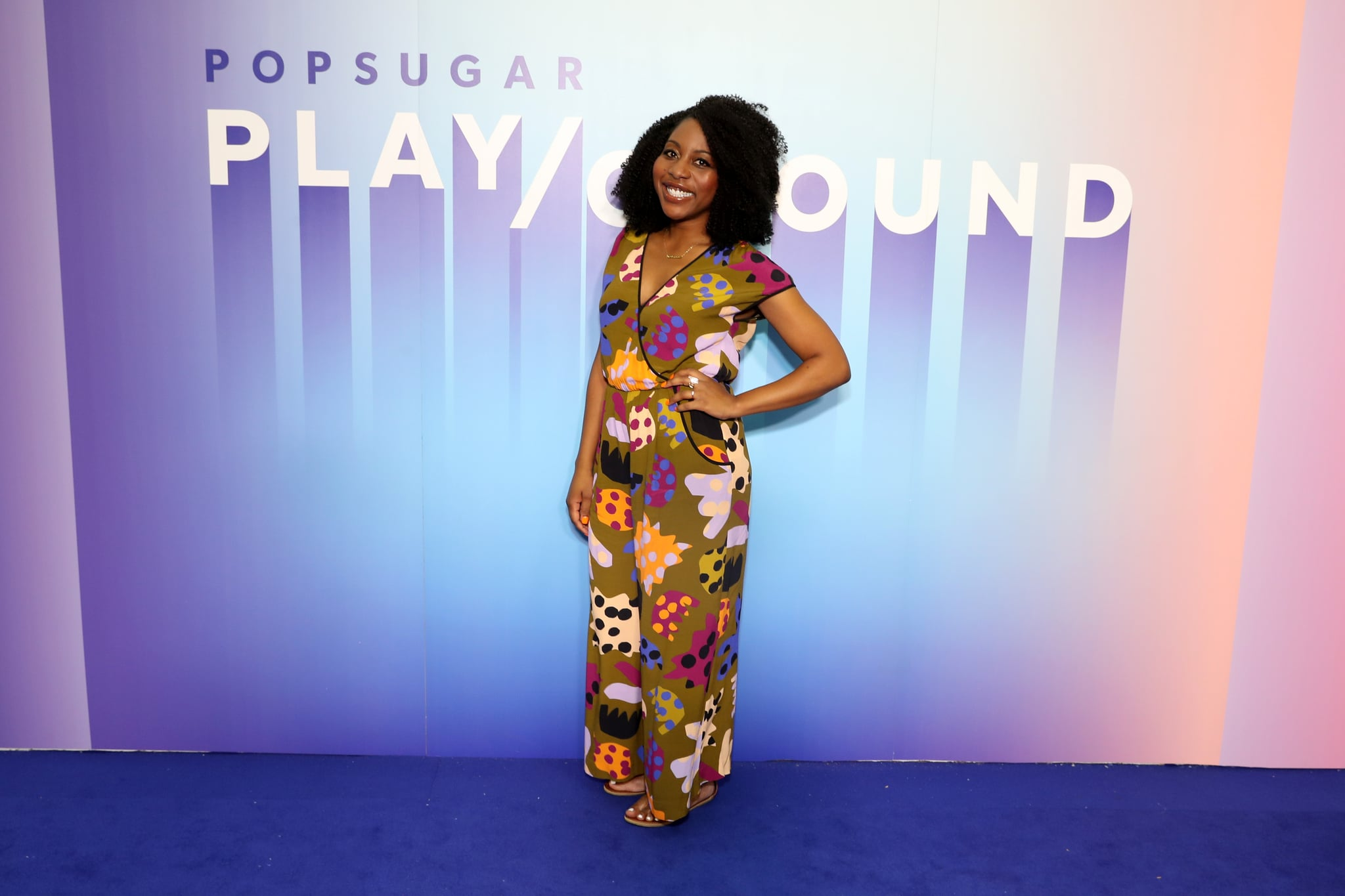 NEW YORK, NEW YORK - JUNE 23: Amy Aniobi attends the POPSUGAR Play/Ground at Pier 94 on June 23, 2019 in New York City. (Photo by Cindy Ord/Getty Images for POPSUGAR and Reed Exhibitions )