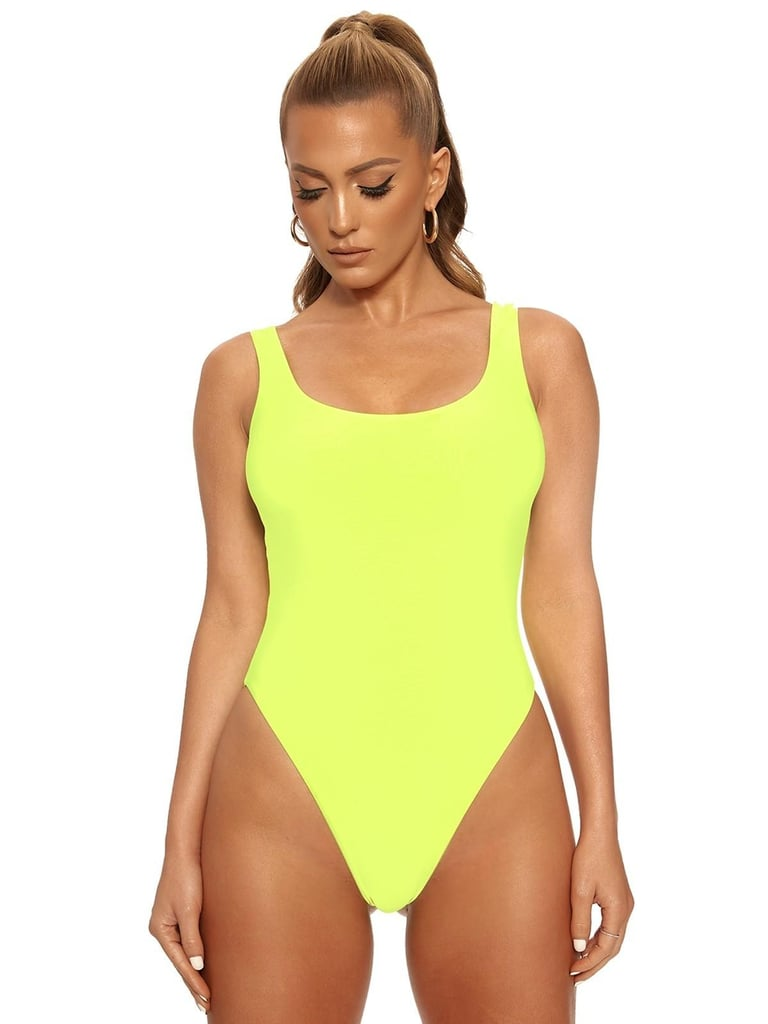 Naked Wardrobe Resting Beach Face One-Piece Swimsuit