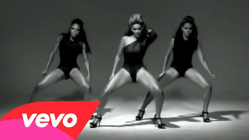 "Beyoncé in Tina Knowles for the ""Single Ladies"" video (2008)"