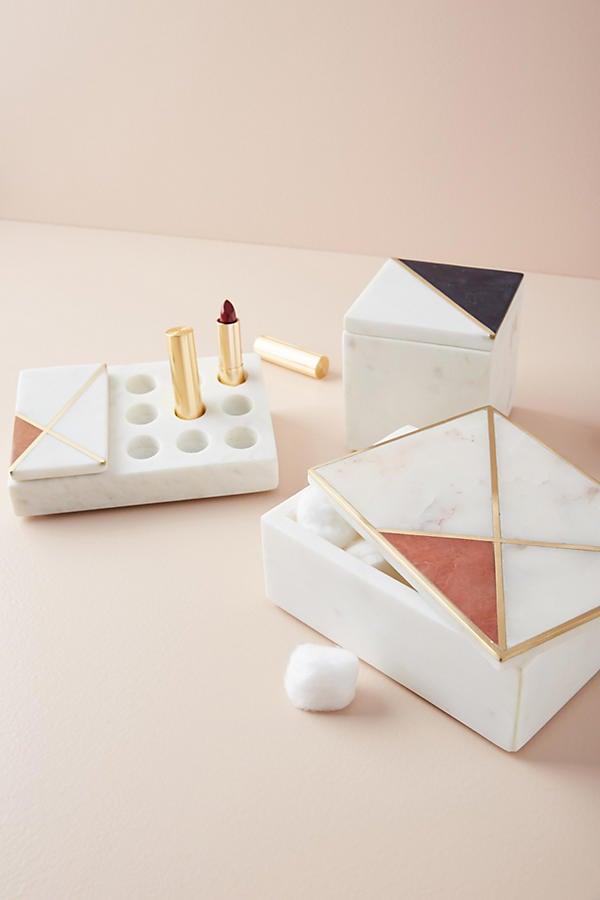 Marble Vanity Organizer