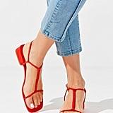 UO Chloe T-Strap Sandals