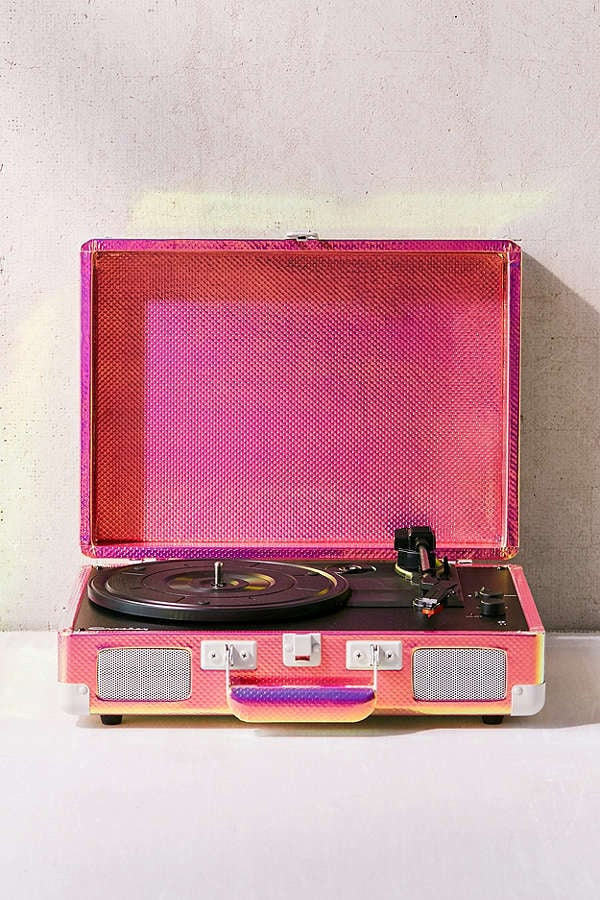 Crosley Rainbow Holographic Cruiser Bluetooth Record Player