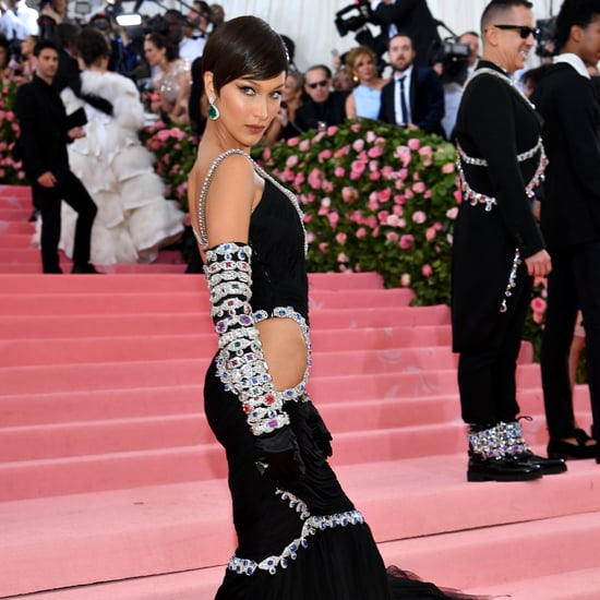 Bella Hadid's Black Dress at Met Gala 2019
