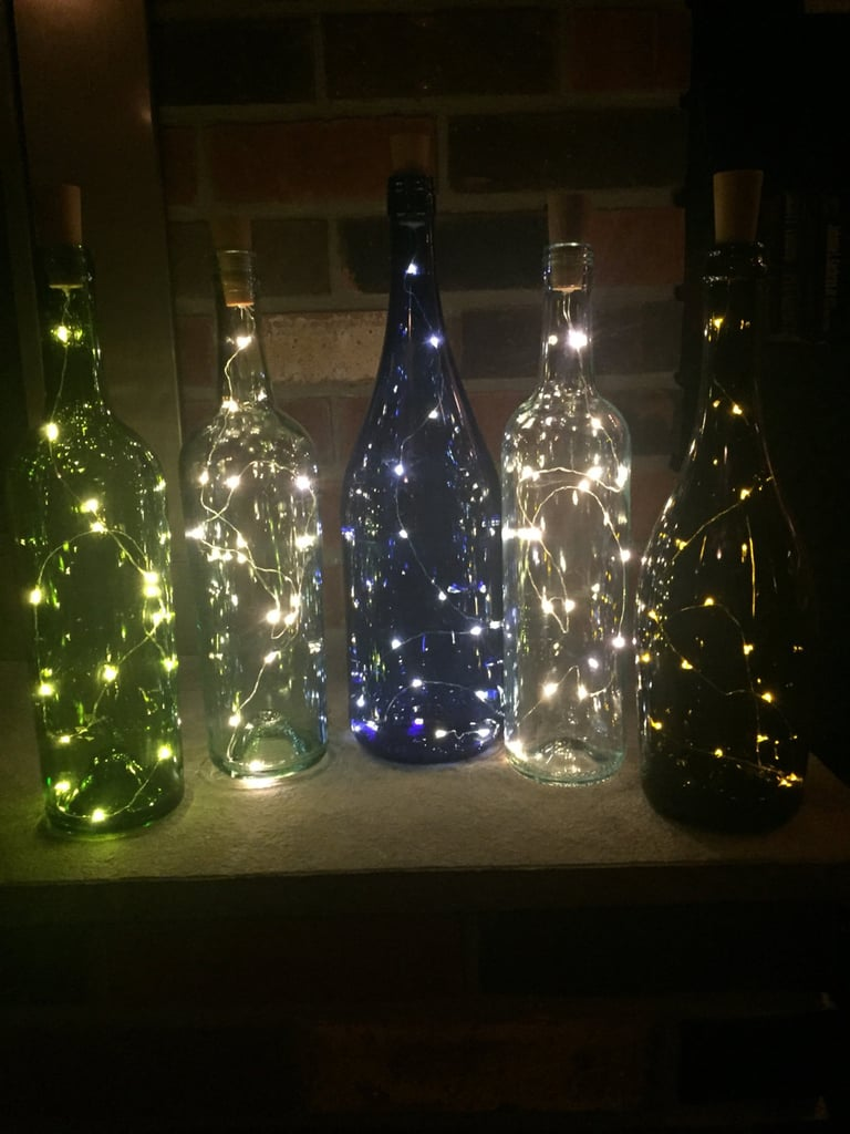 Wine Bottle Nightlight