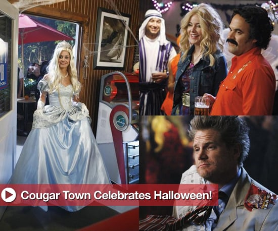 Cougar Town Halloween Pics