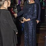 Meghan Markle Outfit Cirque du Soleil Visit January 2019