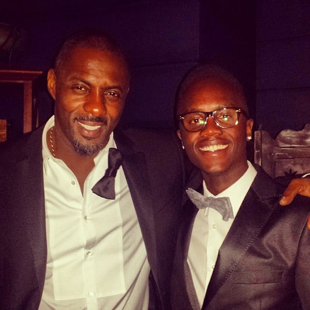 Peter Partied With Idris Elba