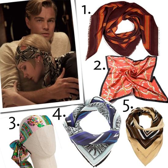 Silk Headscarves Like Daisy Buchanan Wears in The Great Gatsby
