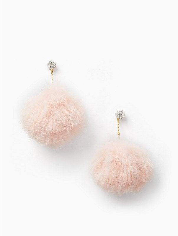 Kate Spade New York Chic and Cushy Linear Pouf Earrings   Kate Spade ...