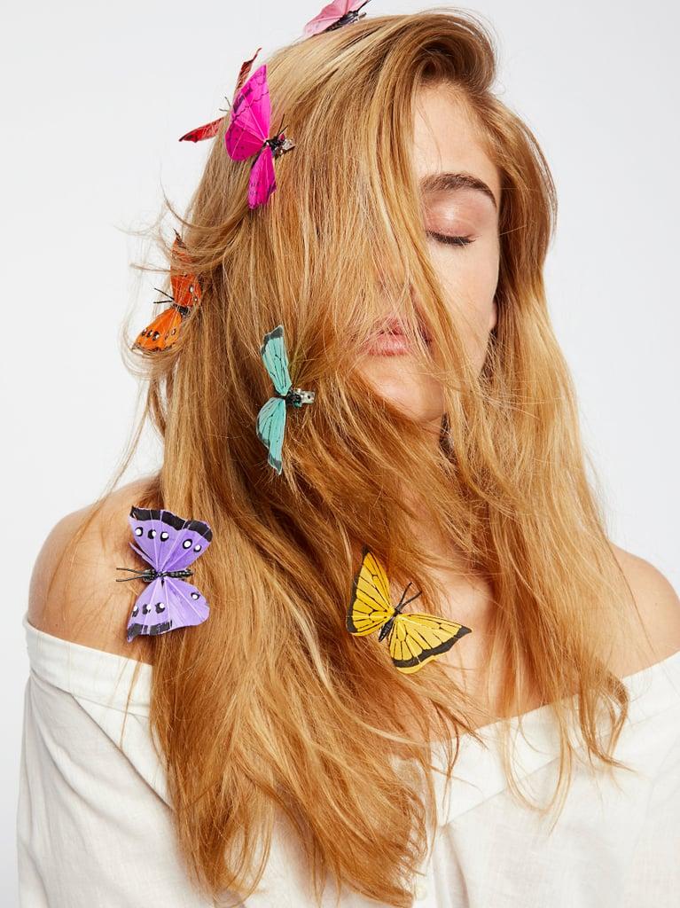 Butterfly Hair Clip 7-Pack – Rainbow