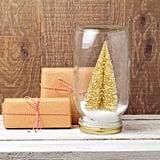 Mini Gold Christmas Trees