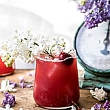 Hibiscus Cherry Vodka Spritz