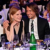 Nicole Kidman and Keith Urban got cozy during the 2011 show.