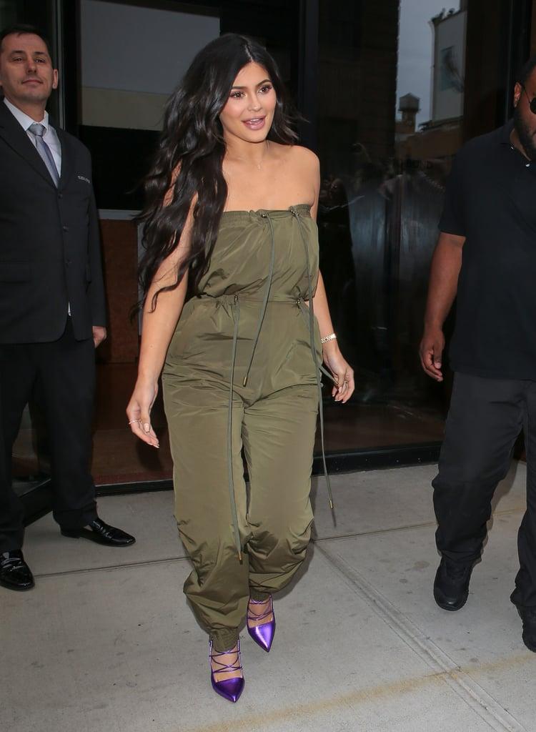 Kylie Jenner Green Jumpsuit