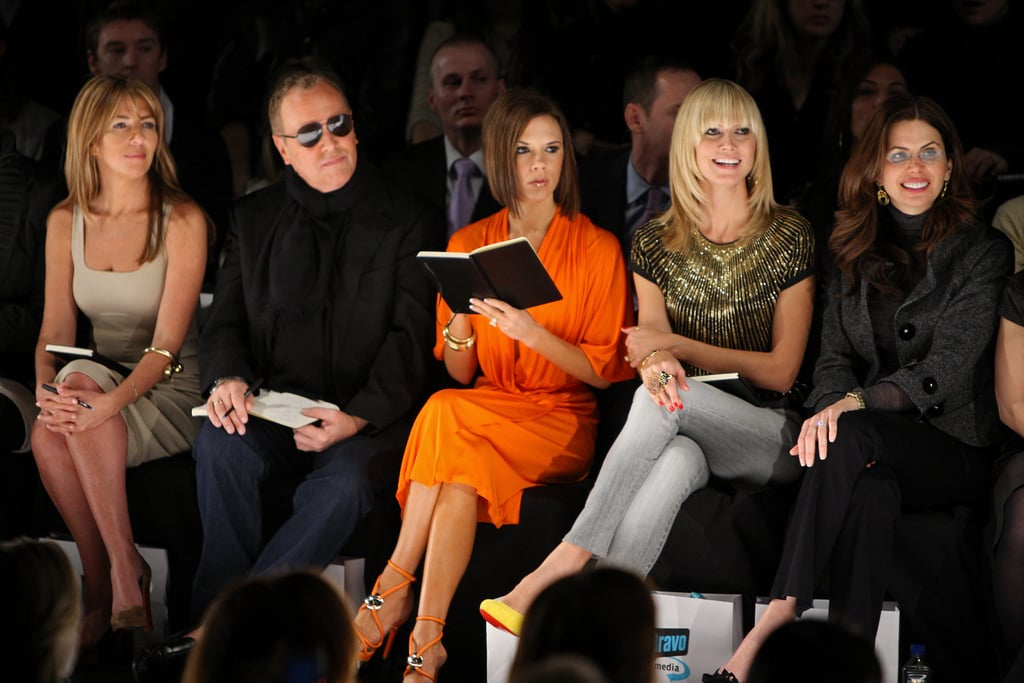Victoria Was a Guest Judge on Project Runway in 2008
