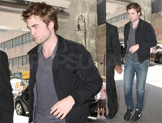 Robert Pattinson in NYC