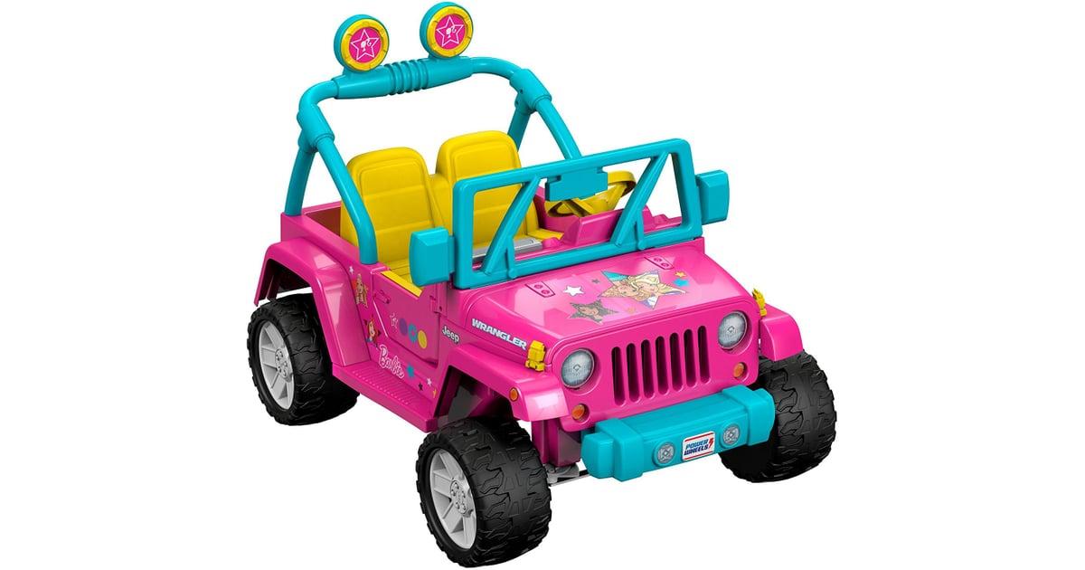 power wheels barbie jeep wrangler gift guide for 5 year olds popsugar family photo 13. Black Bedroom Furniture Sets. Home Design Ideas