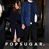 Emma Stone and Dave McCary Hold Hands Walking to SNL Party