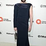 Jonathan Van Ness at the 2020 Elton John AIDS Foundation Academy Oscars Party