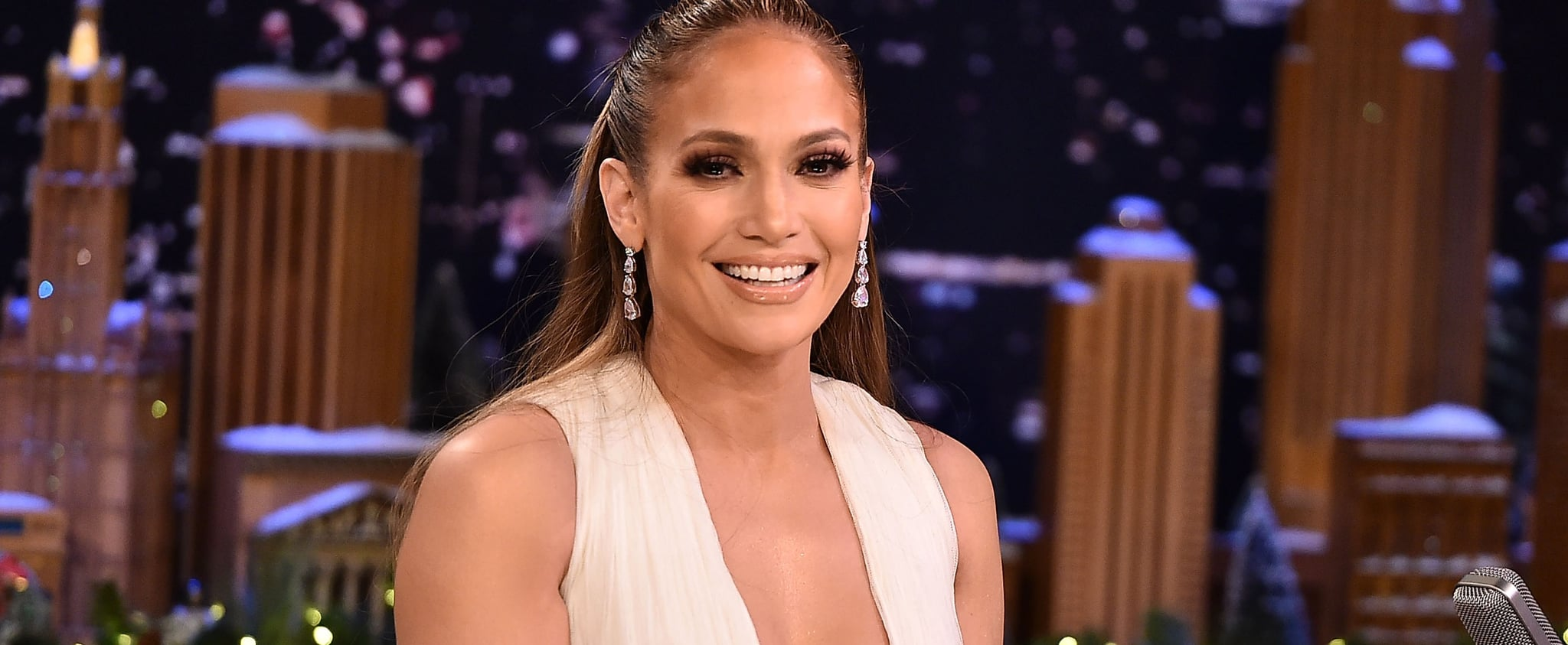 Jennifer Lopez Tutu Dress on The Tonight Show December 2018