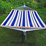 Algoma Fabric Hammock and Stand Set
