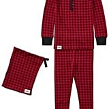 Ralph Lauren Buffalo Check Pajama Set Park Avenue Red/Black 2T