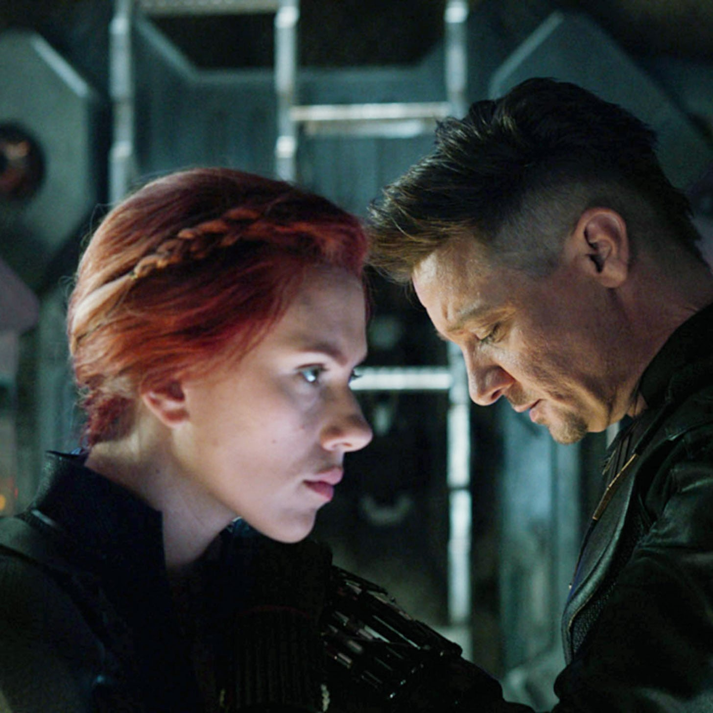 black widow's hair in avengers: endgame theory | popsugar beauty