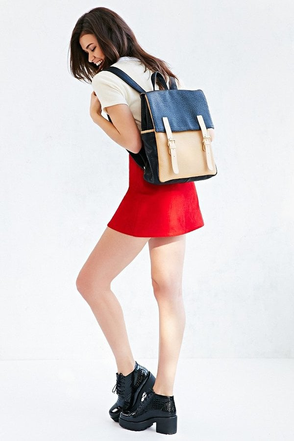 Cooperative Double Buckle Flap Backpack ($59)