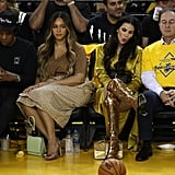 Beyoncé and JAY-Z at Warriors Game Pictures June 2019