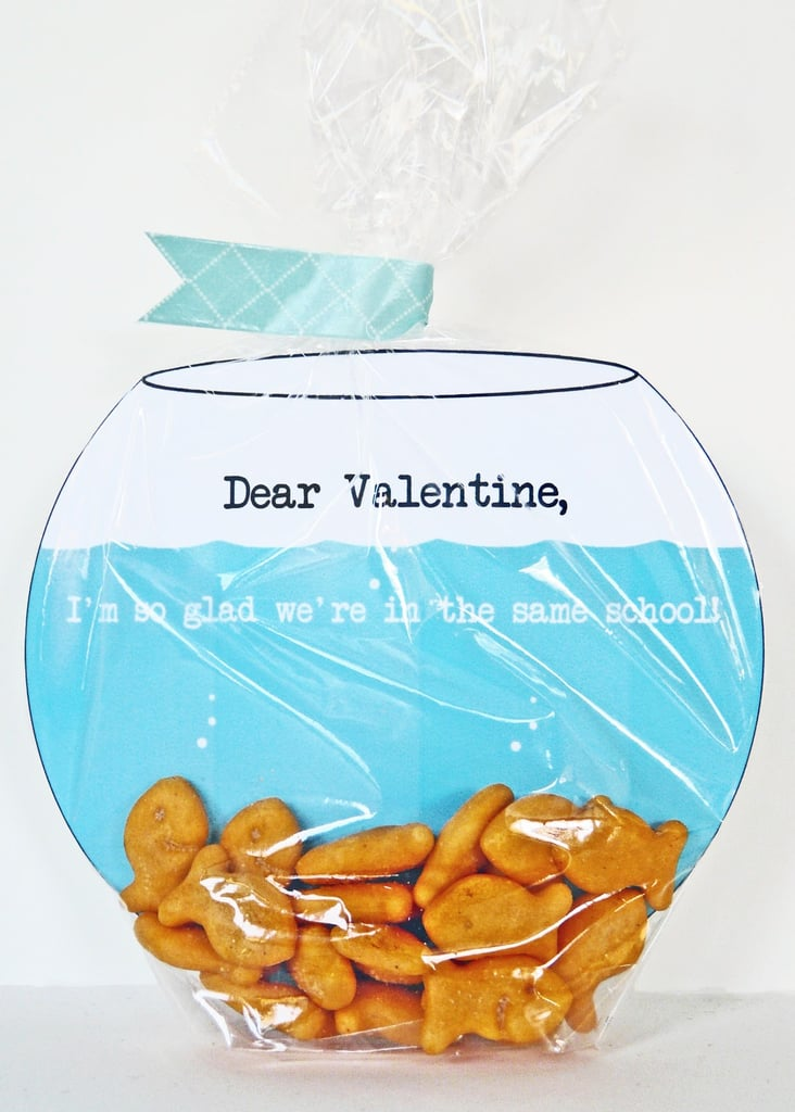 DIY Printable School Valentines Day Cards For Kids – Food Valentine Cards
