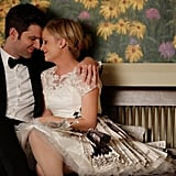 Adam Scott and Amy Poehler on Parks and Recreation.