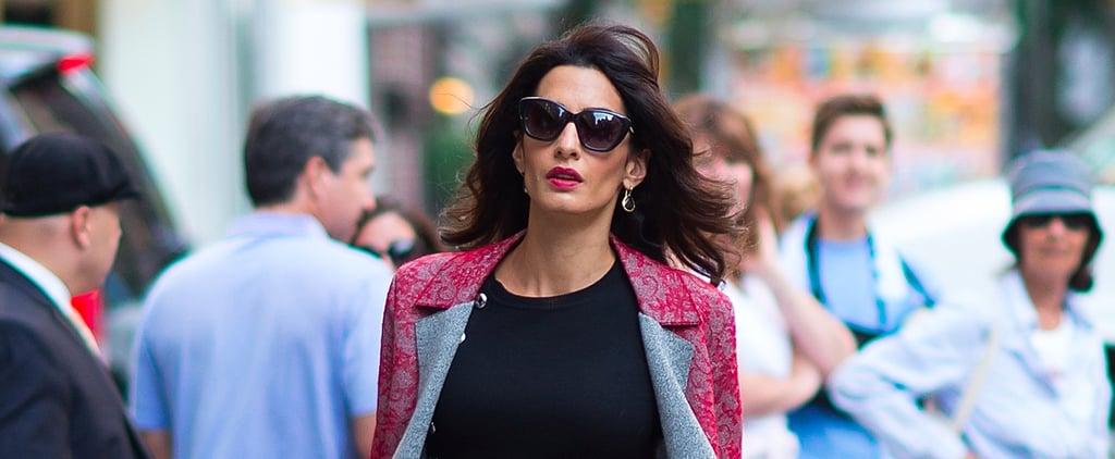Amal Clooney Favorite Brands at Fashion Week Spring 2018