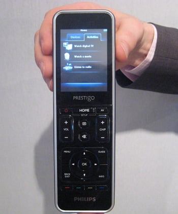 Philips Announces a New Universal Remote: The Prestigo STR9320
