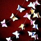 3D Butterfly Garland