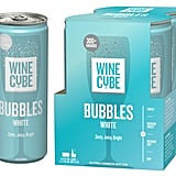 Wine Cube Sparkling Cans: Bubbles White Wine