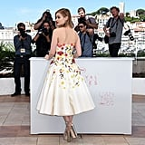 Bella Heathcote Knew Her Giambattista Valli Dress Was a Sight to See