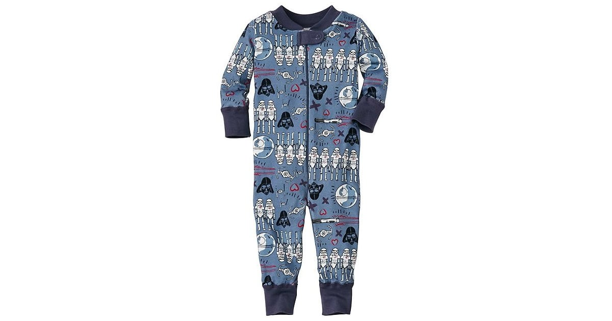 70221f2db Star Wars Valentine s Day Baby Sleeper in Pure Organic Cotton