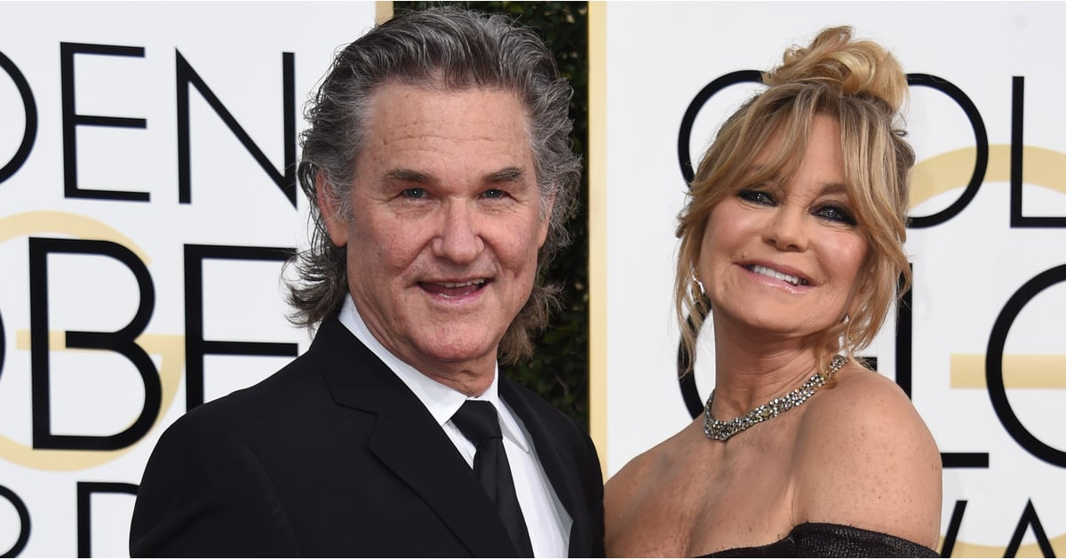Goldie Hawn and Kurt Russell at the 2017 Golden Globes ...