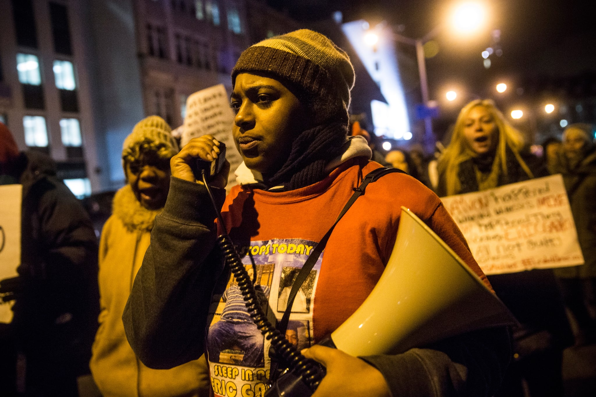 Eric Garner's activist daughter in coma after heart attack