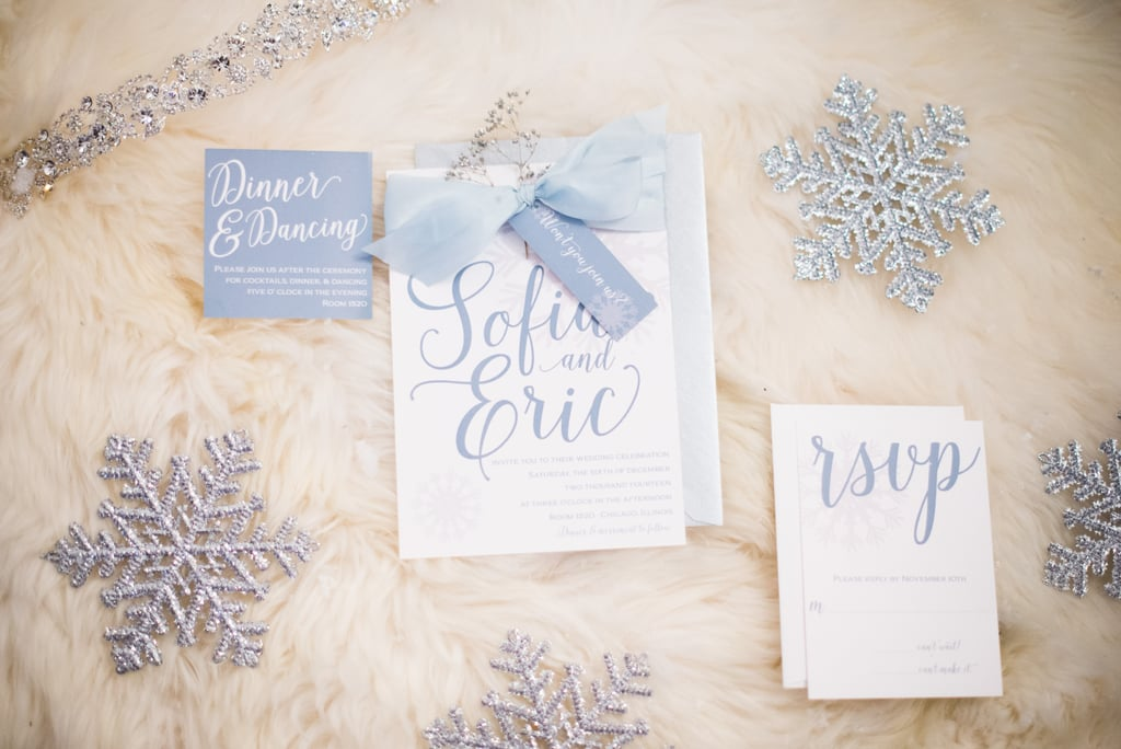 Wintry Details Make For Stunning Stationary
