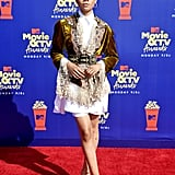 Storm Reid at the 2019 MTV Movie and TV Awards