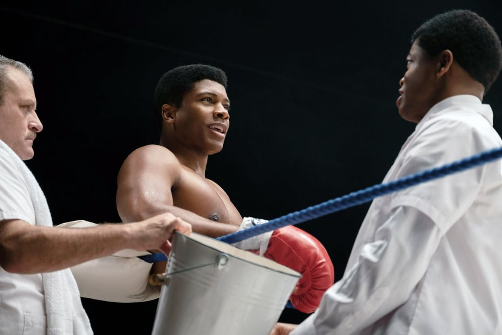 Eli Goree as Cassius Clay, aka Muhammad Ali, in One Night in Miami