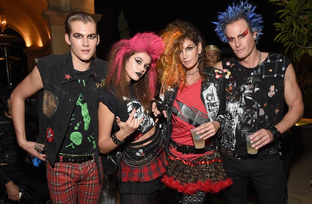 The Family of Four Definitely Won Halloween Weekend