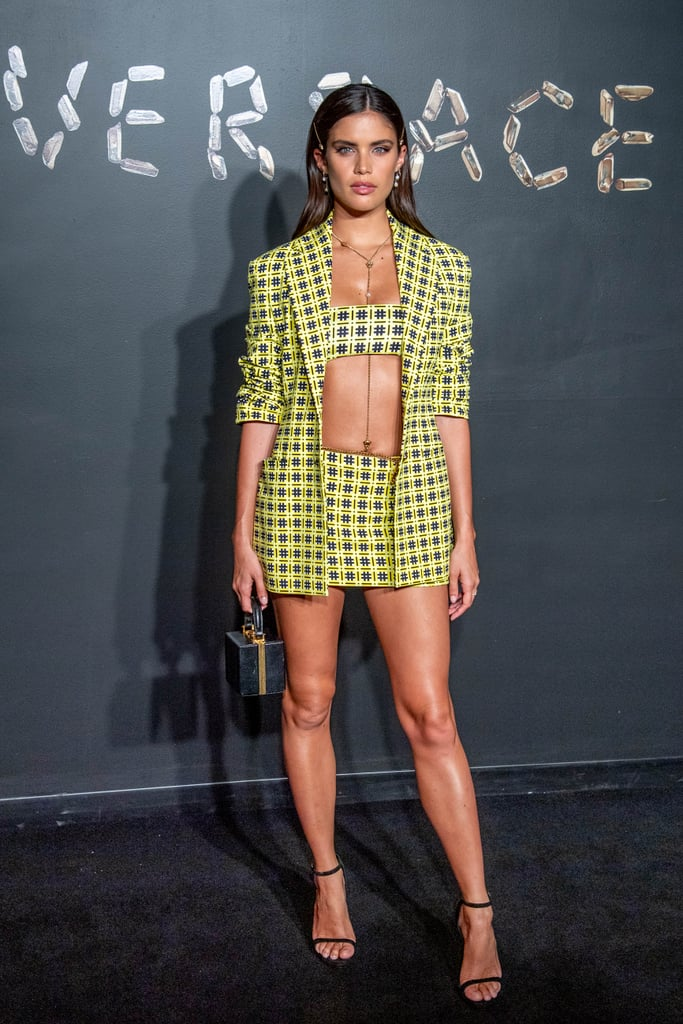 Sara Sampaio Brightened Up the Room in a Yellow Ensemble