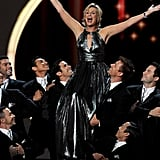 Jane Lynch gave a showstopping opening number.