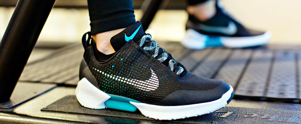 Nike's New Self-Lacing Kicks Are the Workout Sneaker of Our Dreams