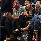 Beyoncé and Jay-Z Share Sporty Smiles and New Snaps of Blue Ivy